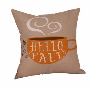 Accents - ❗️LAST ONE❗️Hello Fall Coffee Tea Mug Pillow Cover